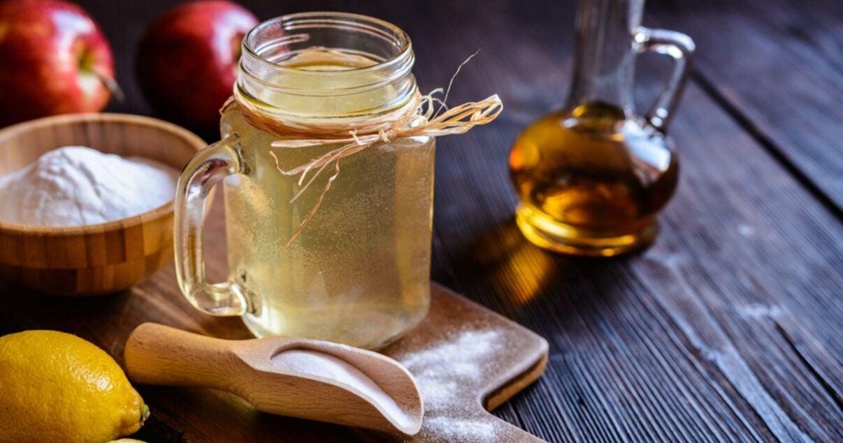 bakingsoda apple vinegar great ingredients for hair system maintenance